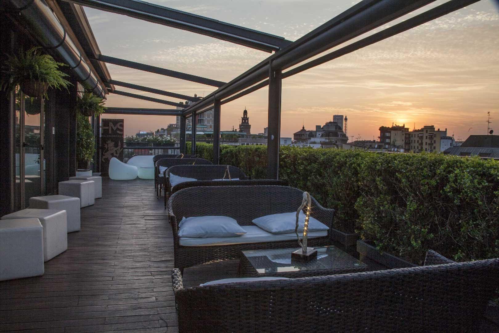5 aperitivi con vista panoramica su Milano