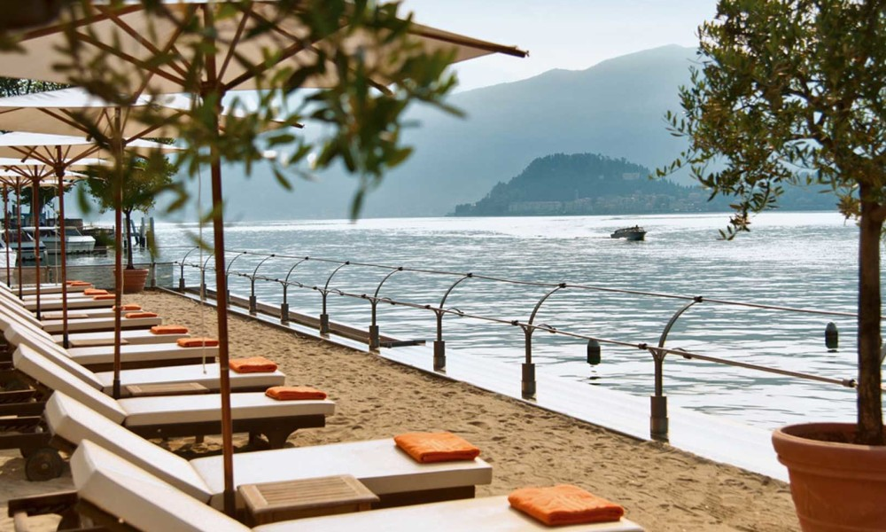 The 5 most beautiful beach clubs of Lake Como
