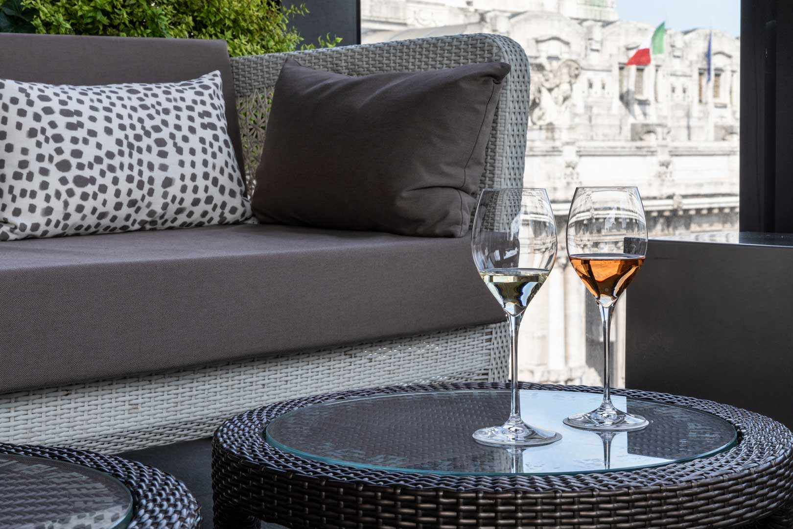 The New Terrazza Gallia Aperitivo Menu Flawless Milano