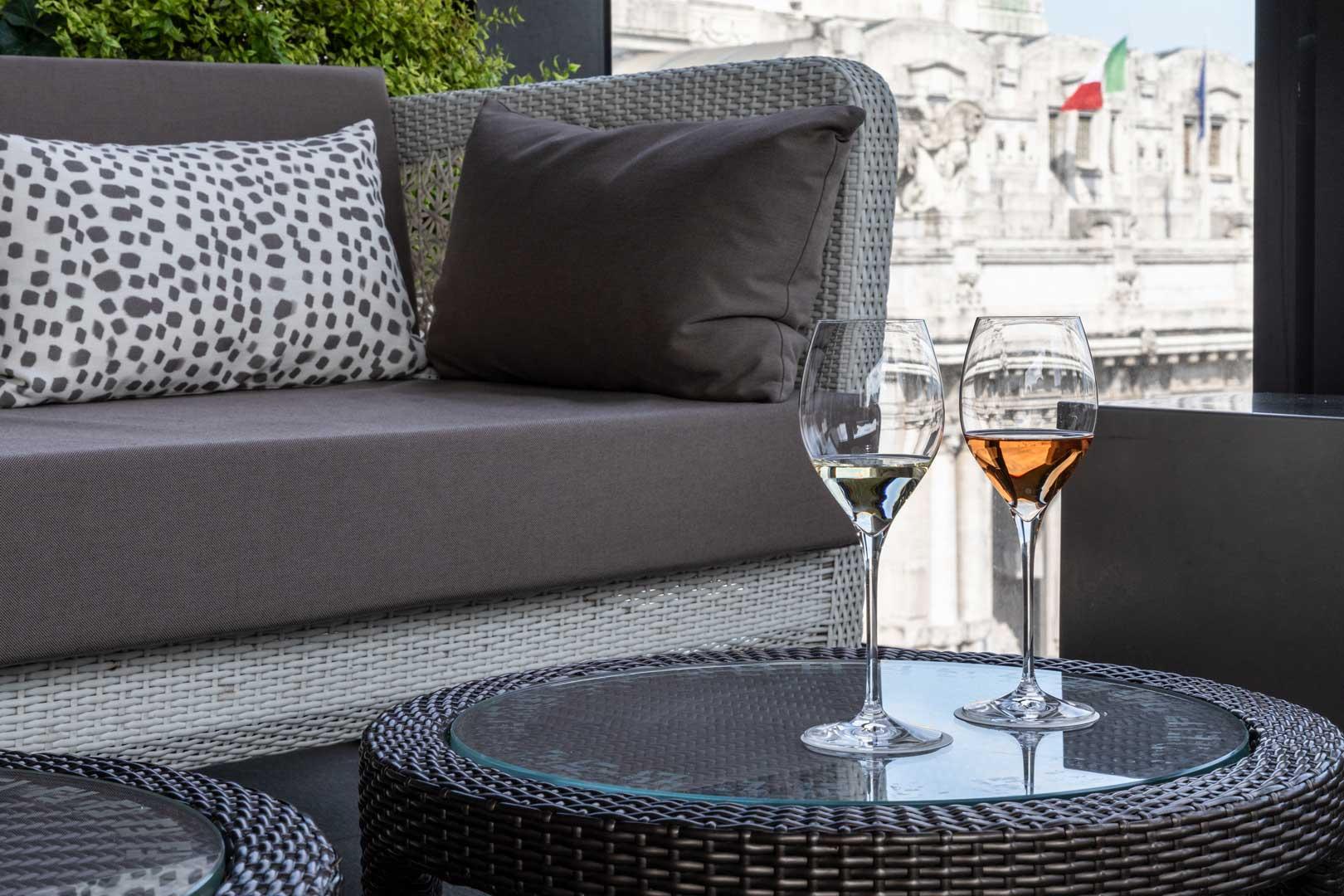 The New Terrazza Gallia Aperitivo Menu Flawless Milano
