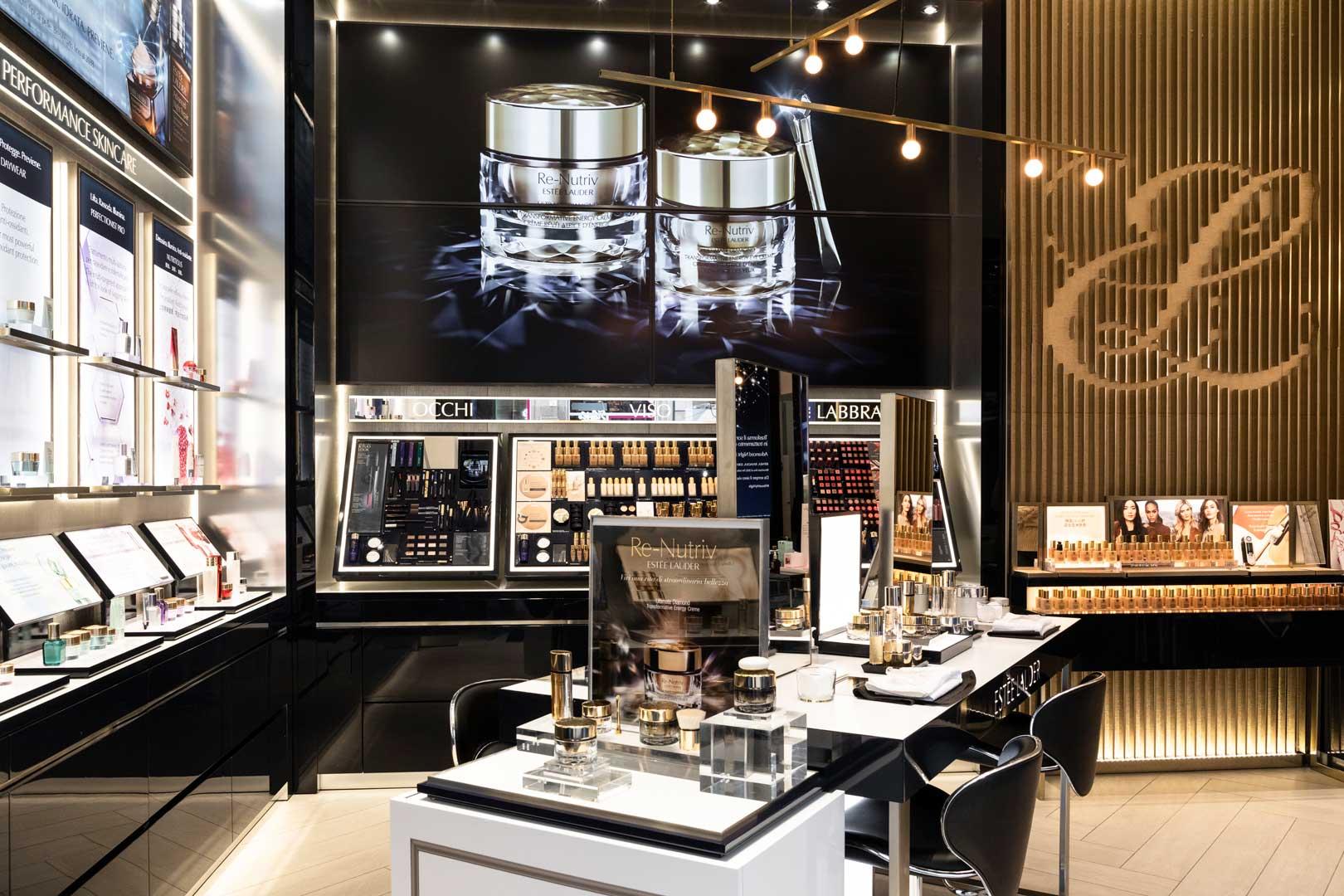 Extraordinary beauty program flawless milano for Store design milano