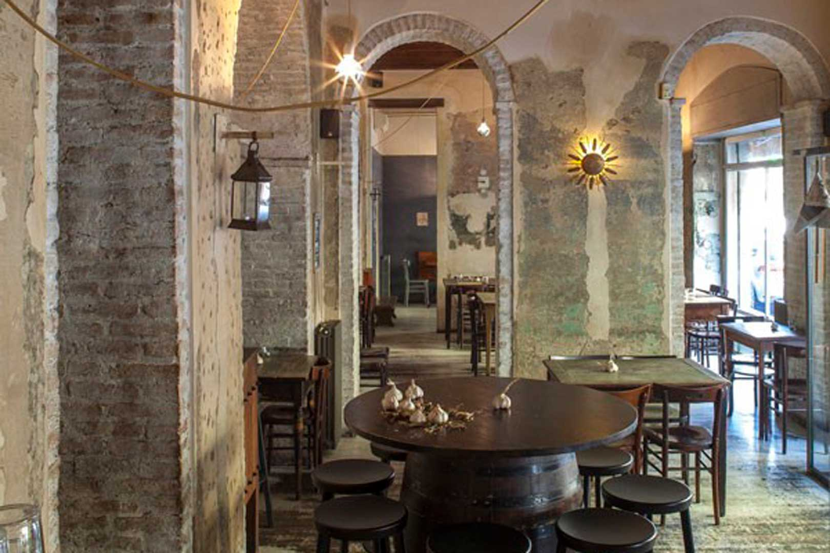 10 ristoranti industrial chic - Ajo Blanco