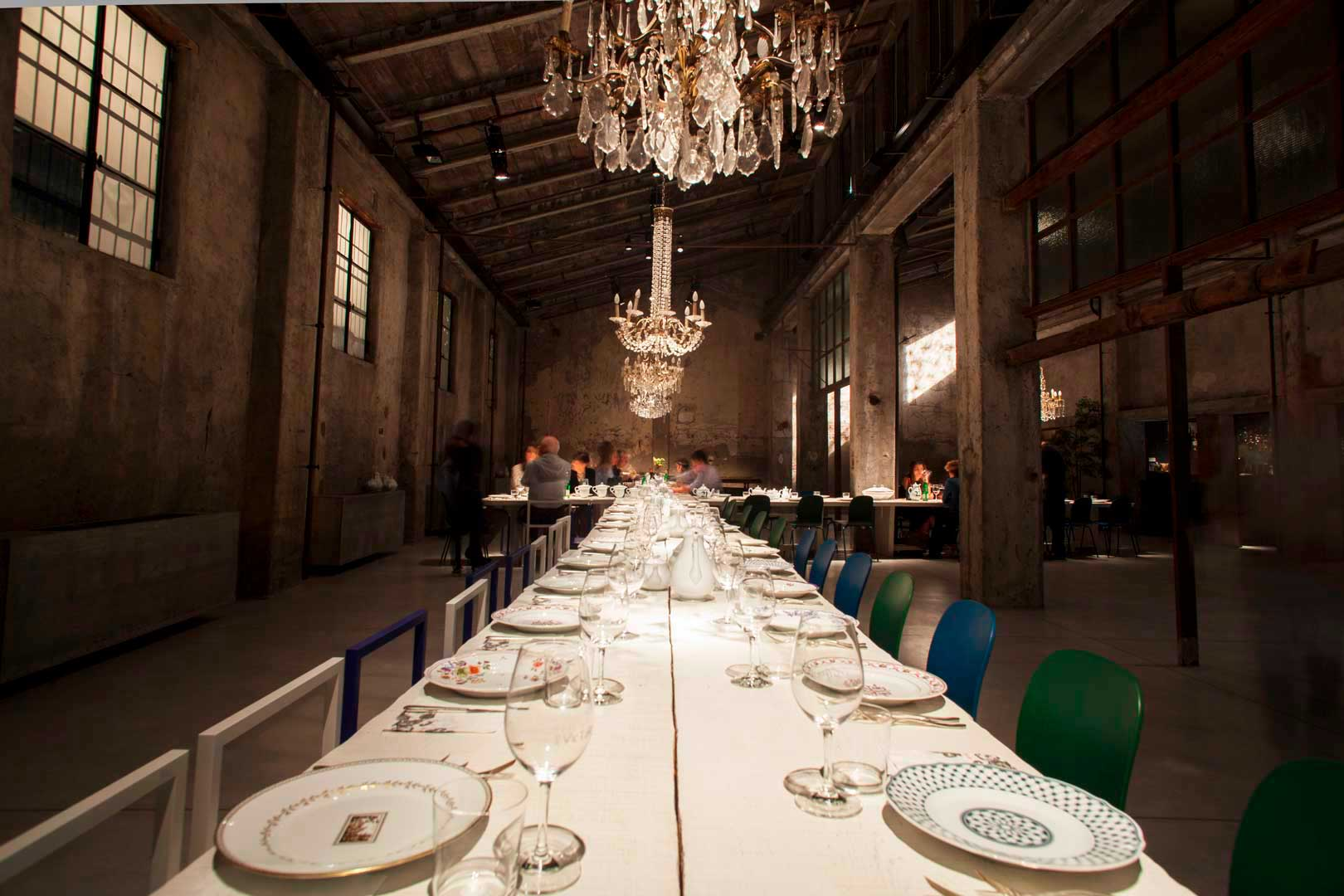 10 ristoranti industrial chic - Carlo e Camilla in Segheria