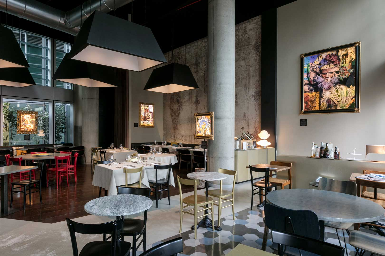 10 ristoranti industrial chic - Il Santa