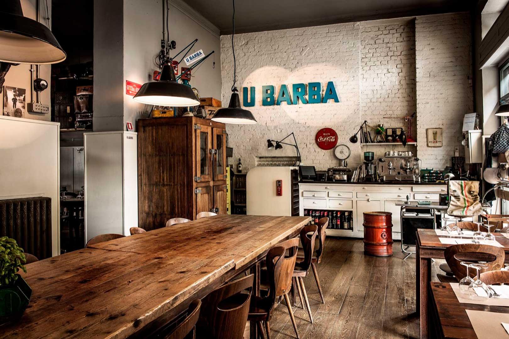 10 ristoranti industrial chic - U Barba