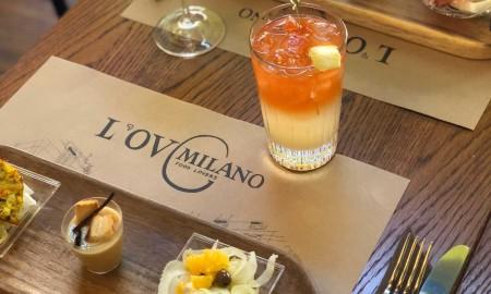 Aperitivo e cena da L'Ov Milano Solari