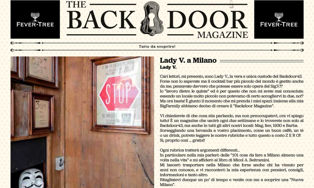 Dietro la porta del Backdoor43