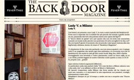 Dietro la porta del Backdoor43 - Milano