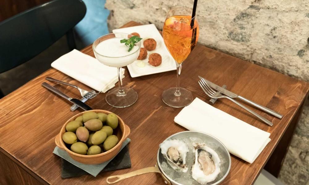 L'aperitivo da Fishbar de Milan