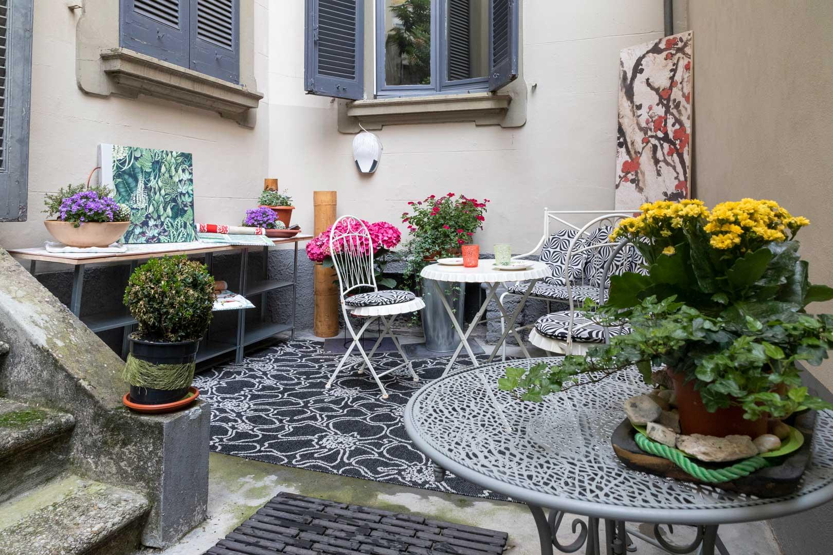 Il giardino segreto della Casa di Gaia - Milano