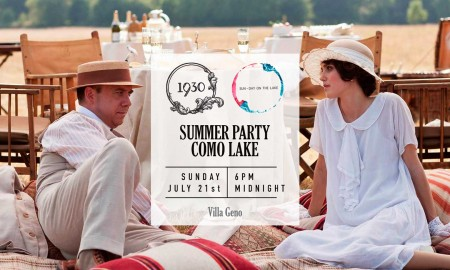 La festa più attesa sul Lago di Como? Il 1930 Summer Party