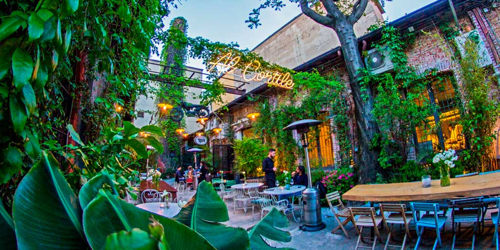 The Best Courtyard Aperitifs In Milan Flawless Milano
