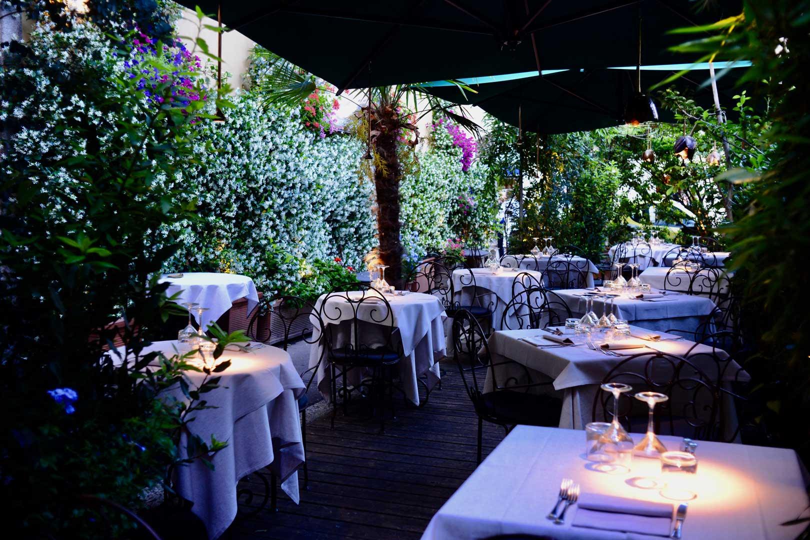 I migliori ristoranti all'aperto a Milano