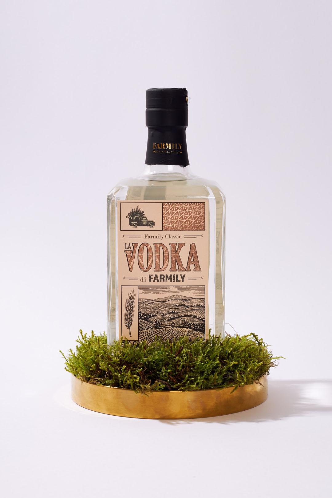 La nuova vodka di Farmily