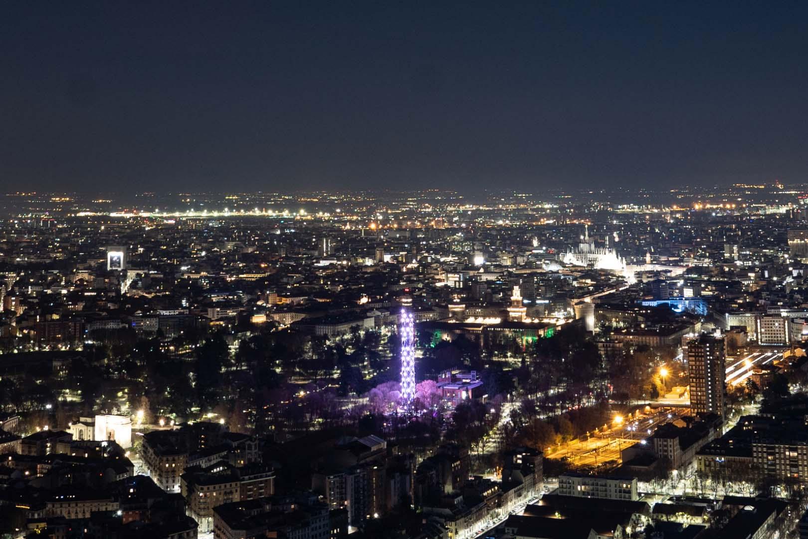 Stargazing starway to Milano